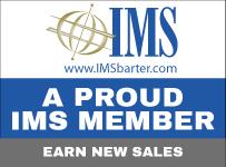 A PROUD IMS MEMBER EARN NEW SALES www.IMSbarter.com