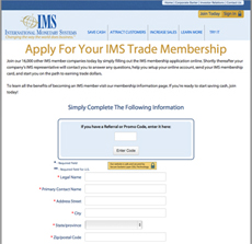 Join IMS Barter